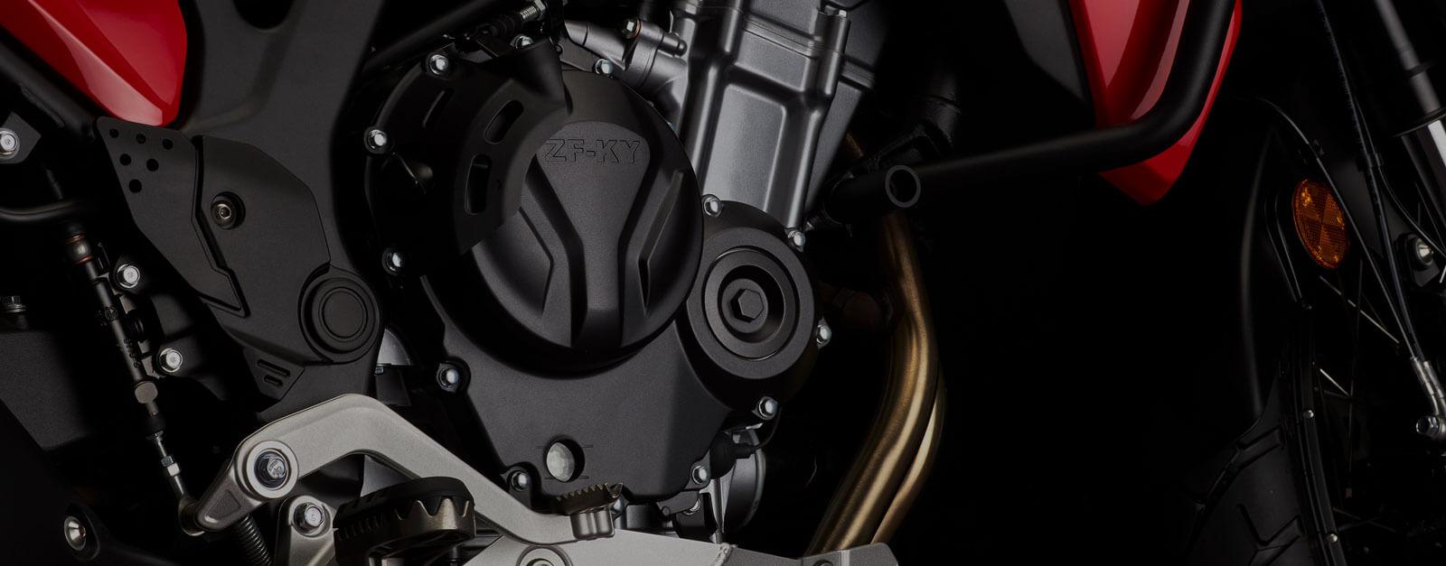 Maverick Red Engine