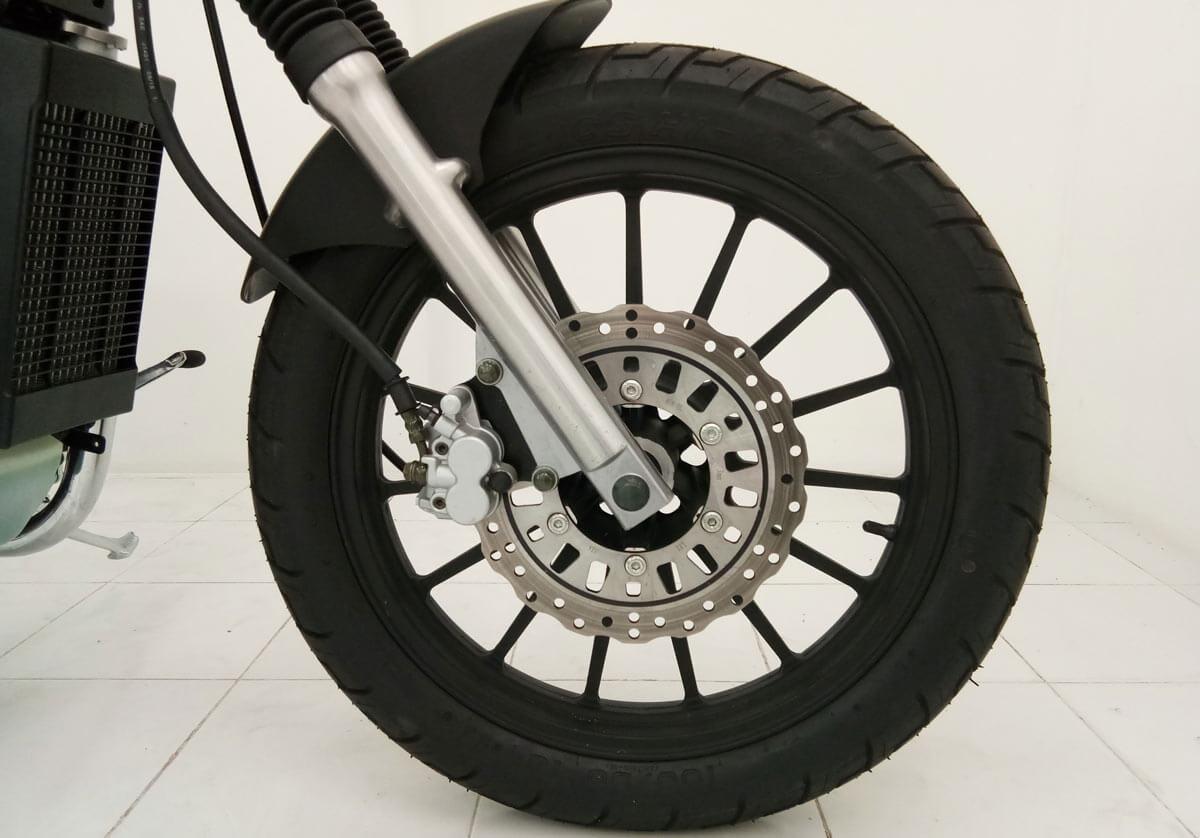 Rebel - front wheel