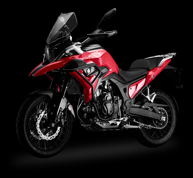 Maverick MV500 by Hunter Motorcycles